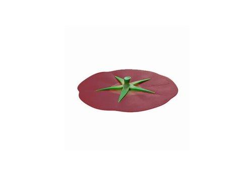 Charles Viancin Charles Viancin - siliconen deksel - tomato burgundy (20 cm.)