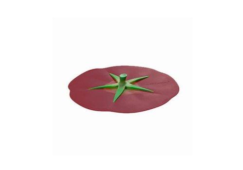 Charles Viancin Charles Viancin - siliconen deksel - tomato burgundy (23 cm.)