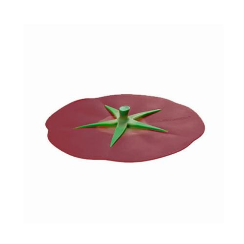 Charles Viancin - siliconen deksel - tomato burgundy (23 cm.)