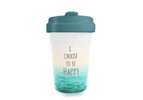 Chic mic Chic mic - bamboo cup - choose happy