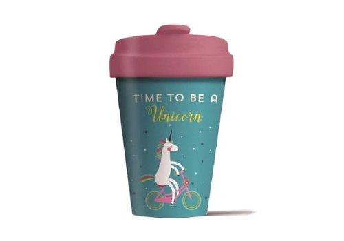 Chic mic Chic mic - bamboo cup - unicorns