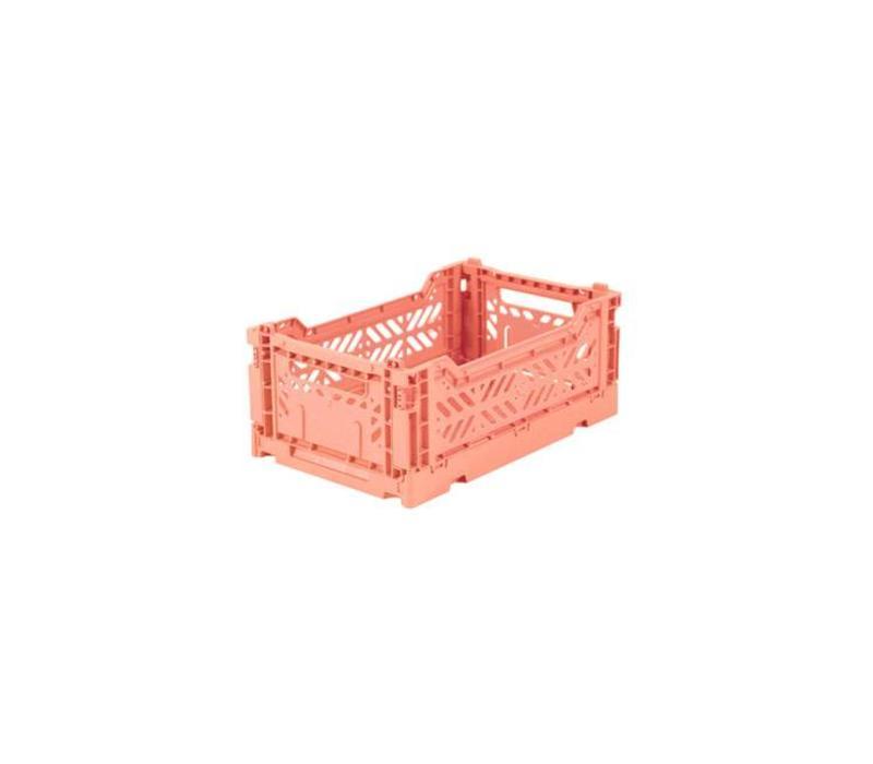 Lillemor lifestyle - opvouwkrat mini - salmon pink