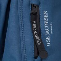 Ilse Jacobsen - 3/4 regenjas - blue rock