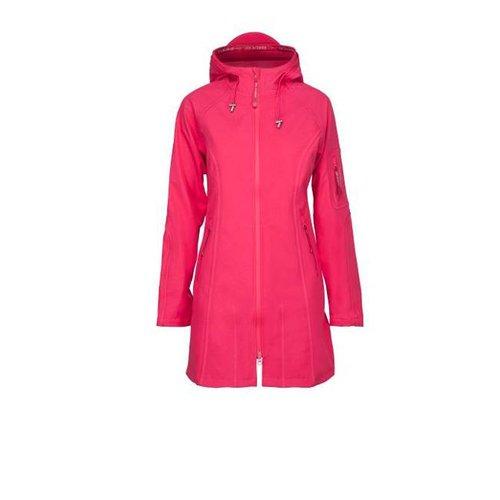 Ilse Jacobsen - 3/4 regenjas - warm pink