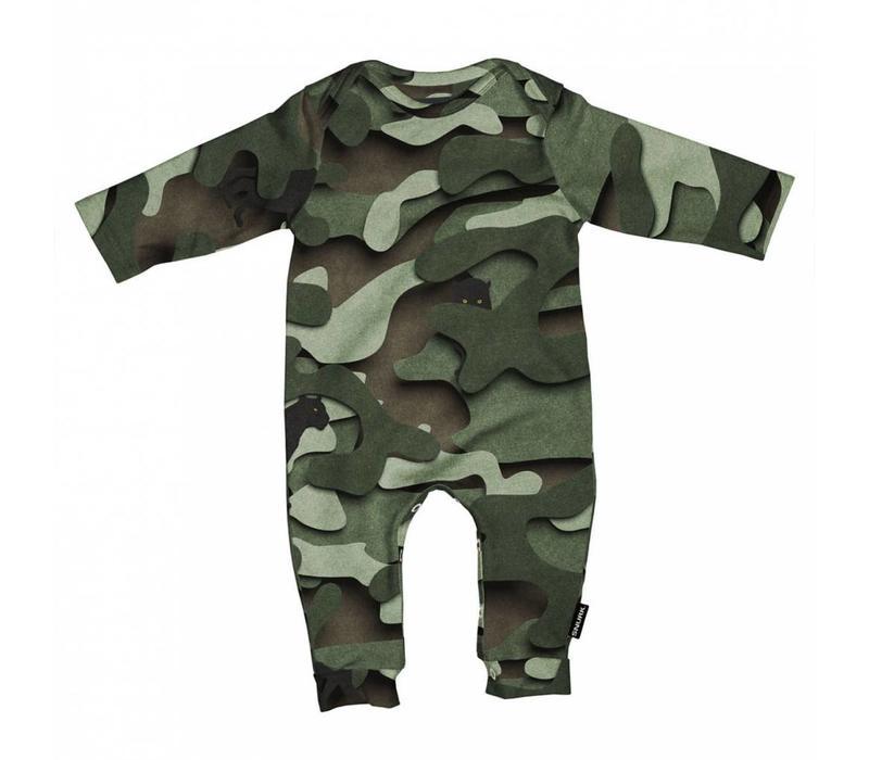 Snurk - baby jumpsuit - paper jungle