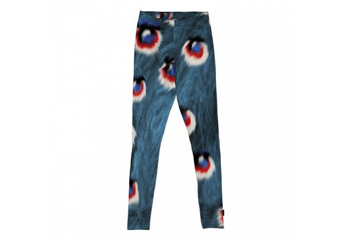 Snurk Snurk - kids legging - peacock