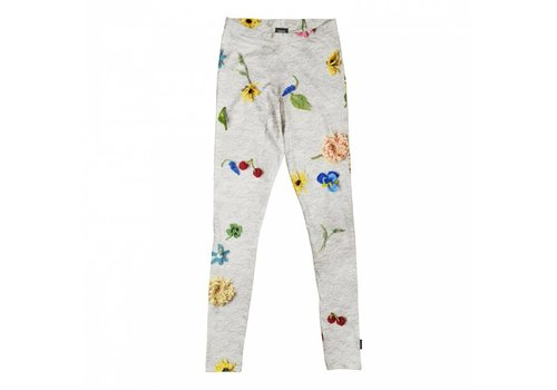 Snurk Snurk - kids legging - knitted flower