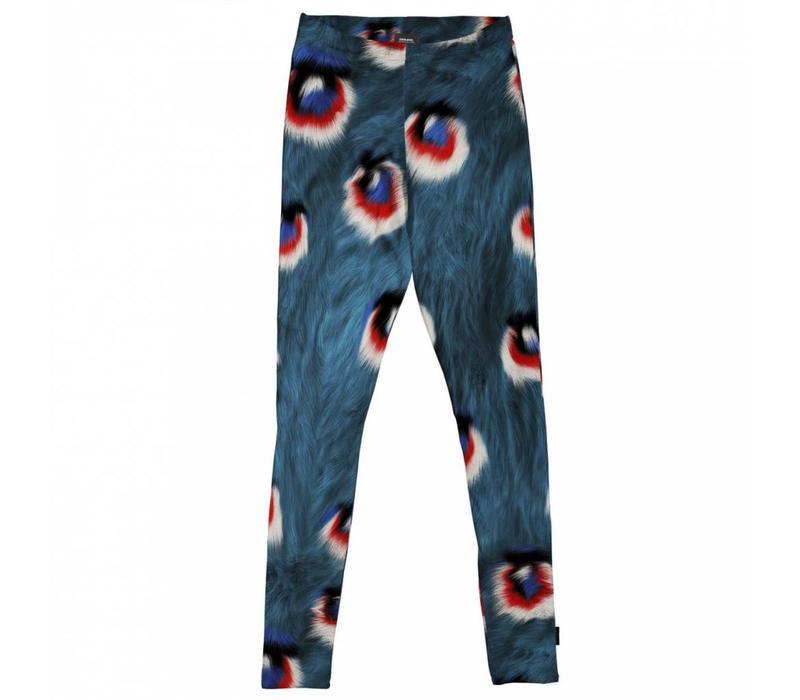 Snurk - dames legging - peacock