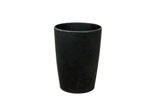 Zuperzozial Zuperzozial - bamboe beker - black