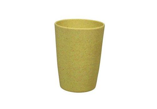 Zuperzozial Zuperzozial - bamboe beker - lemony yellow