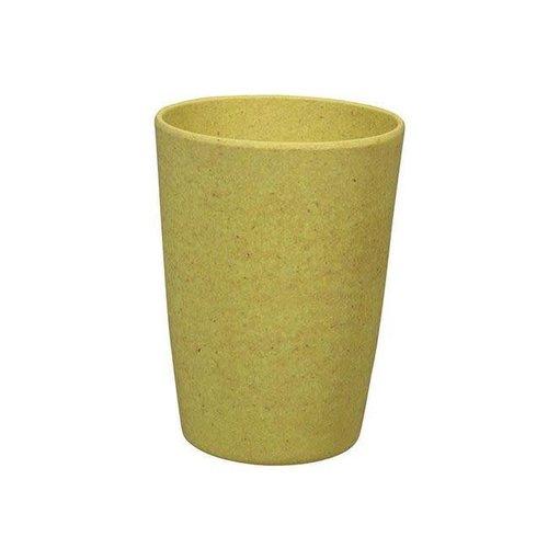 Zuperzozial - bamboe beker - lemony yellow