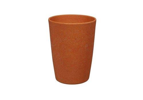 Zuperzozial Zuperzozial - bamboe beker - pumpkin oranje
