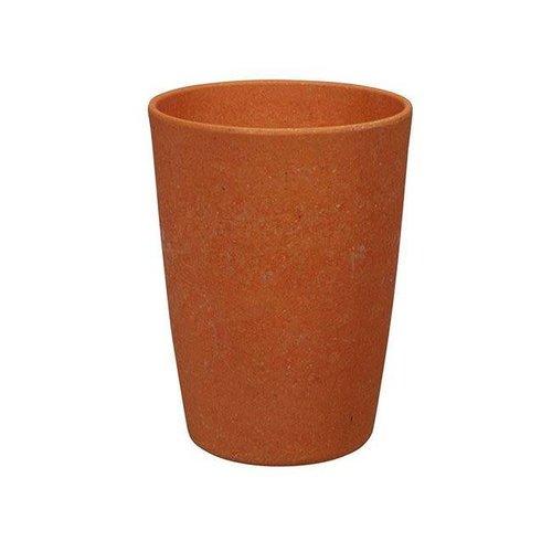 Zuperzozial - bamboe beker - pumpkin oranje