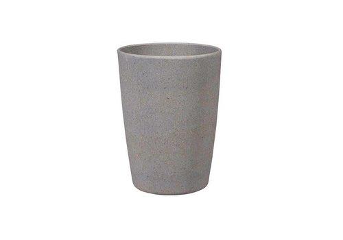 Zuperzozial Zuperzozial - bamboe beker - stone grey