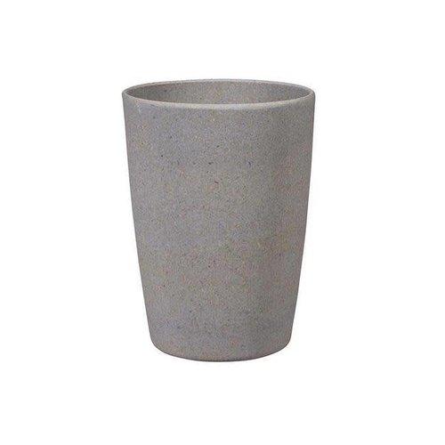 Zuperzozial - bamboe beker - stone grey