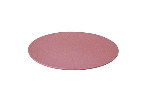 Zuperzozial Zuperzozial - bamboe dinerbord - lollipop pink