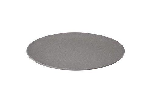 Zuperzozial Zuperzozial - bamboe dinerbord - stone grey