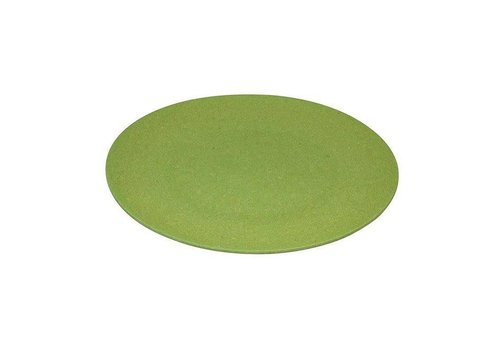 Zuperzozial Zuperzozial - bamboe dinerbord - wasabi green