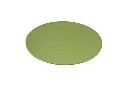 Zuperzozial Zuperzozial - bamboe dinerbord - willow green