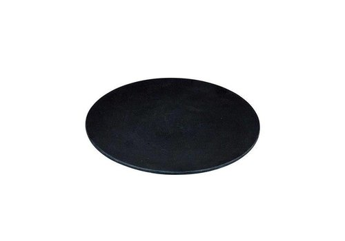Zuperzozial Zuperzozial - bamboe ontbijtbord - black