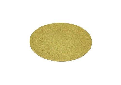 Zuperzozial Zuperzozial - bamboe ontbijtbord - lemony yellow
