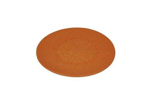 Zuperzozial Zuperzozial - bamboe ontbijtbord - pumpkin oranje