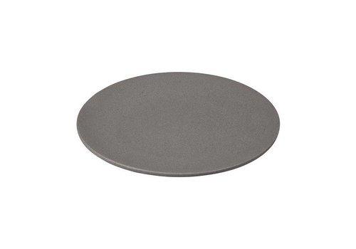 Zuperzozial Zuperzozial - bamboe ontbijtbord - stone grey