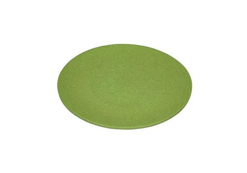 Zuperzozial Zuperzozial - bamboe ontbijtbord - wasabi green