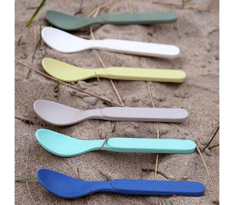 Zuperzozial - bamboe lepeltjes - breeze (set van 6)