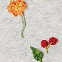 Snurk - kids legging - knitted flower