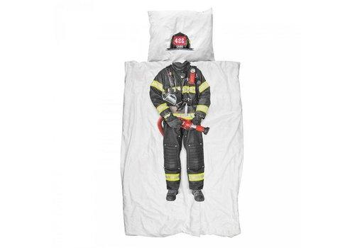 Snurk Snurk - dekbedovertrek - brandweerman