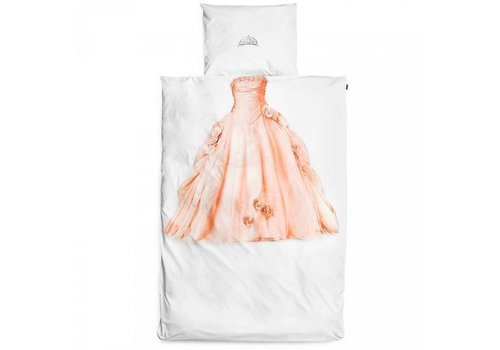 Snurk Snurk - dekbedovertrek - prinses roze