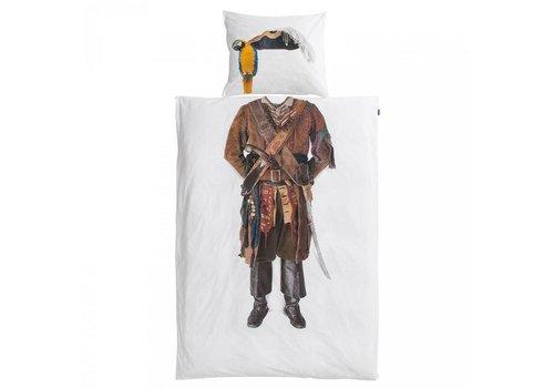 Snurk Snurk - dekbedovertrek - piraat