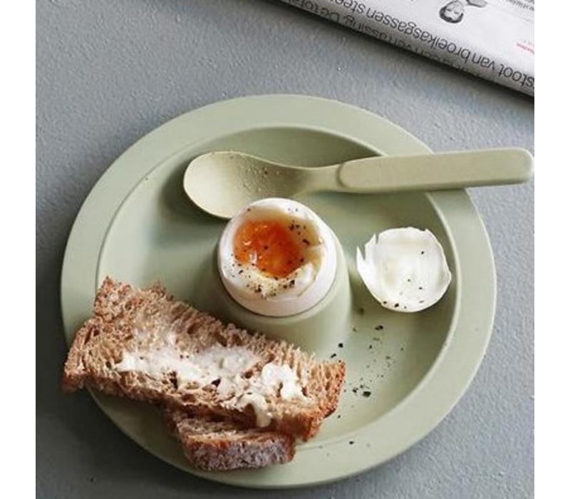 Zuperzozial - eierdop dippy egg - willow groen