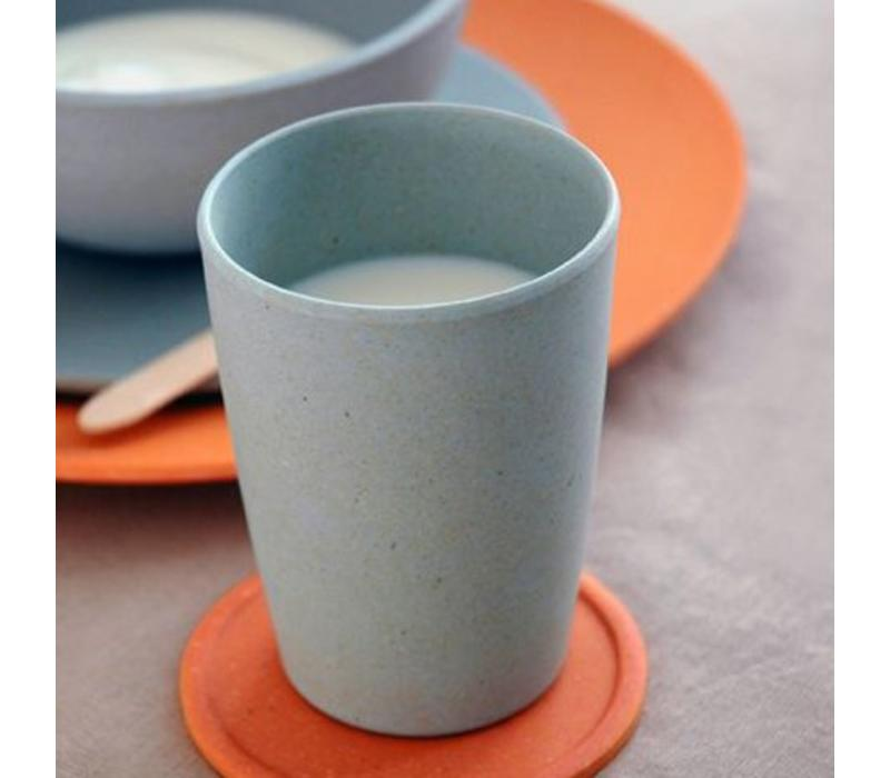 Zuperzozial - bamboe beker - powder blue