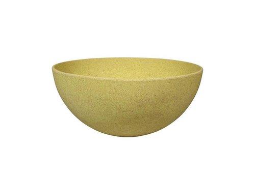 Zuperzozial Zuperzozial - bamboe schaal - lemony yellow