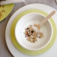 Zuperzozial - bamboe soepkom - coconut white