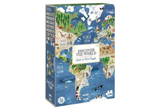 Londji Londji - puzzel - ontdek de wereld