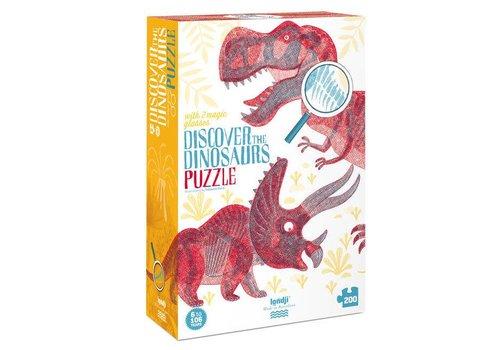 Londji Londji - puzzel - ontdek de dino's