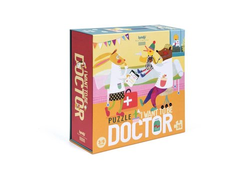 Londji Londji - puzzel - later word ik dokter