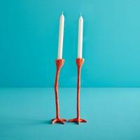 Jasmin Djerzic - long legs - oranje