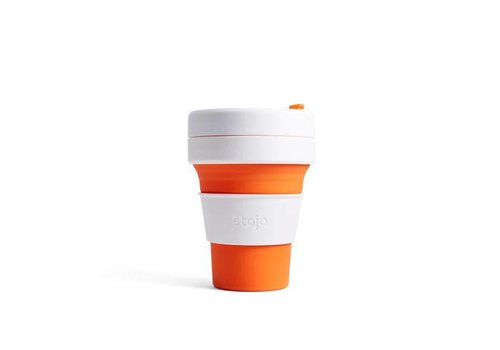 Stojo Stojo - pocket cup - oranje