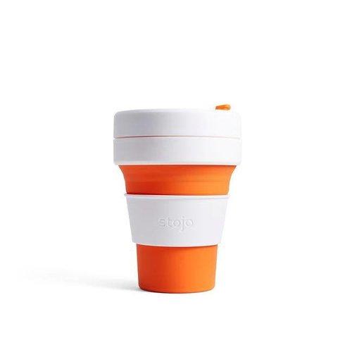 Stojo - pocket cup - oranje