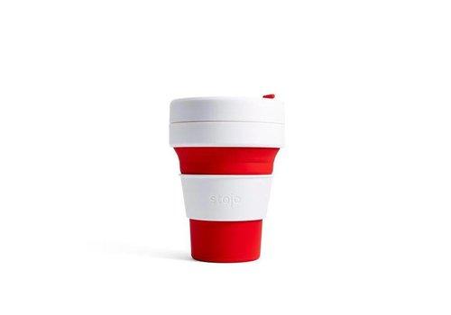 Stojo Stojo - pocket cup - rood