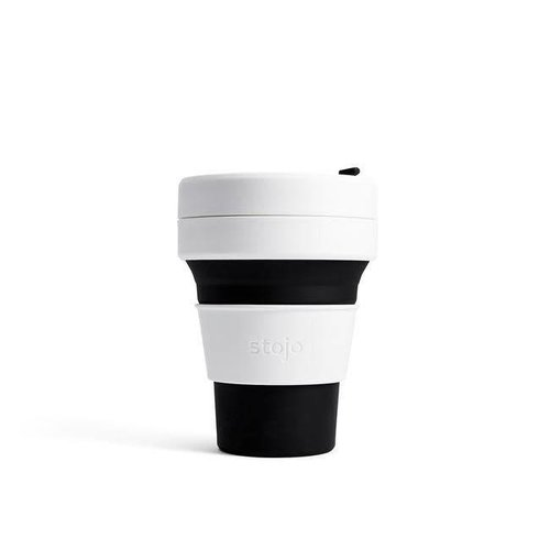 Stojo - pocket cup - zwart