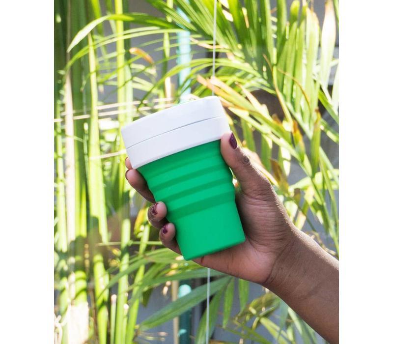 Stojo - pocket cup - groen