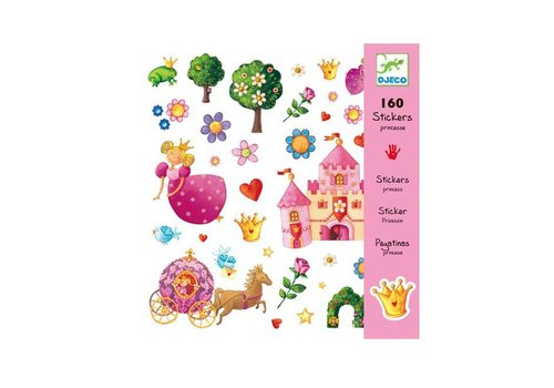 Djeco Djeco - stickers - prinses marguerite
