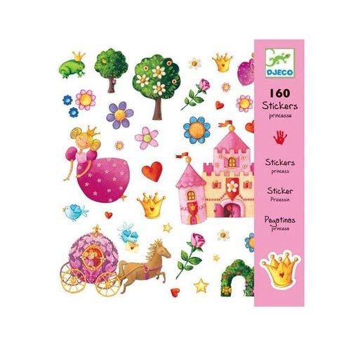 Djeco - stickers - prinses marguerite