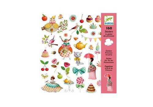Djeco Djeco - stickers - prinsessen theekransje