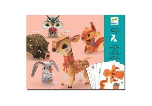 Djeco Djeco - vouwpakket - bosdieren